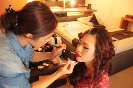 sands makeup artist bali vintage oriental makeup fingerwave hairdo seminyak bali