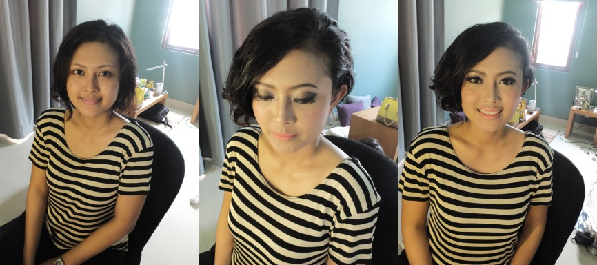 sands makeup artist for a wedding party
